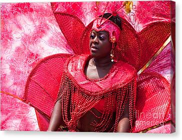 Dc Caribbean Carnival No 18 Canvas Print by Irene Abdou