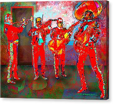 De Colores Canvas Print by Dean Gleisberg