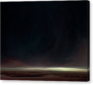Dead Of Night II Canvas Print by Lonnie Christopher