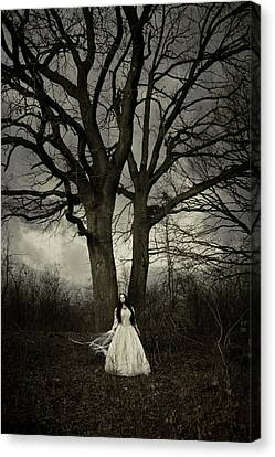 Dead Tree Canvas Print by Cambion Art