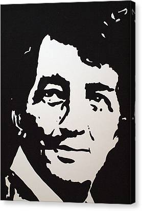 Dean Martin Loving Life Canvas Print by Robert Margetts