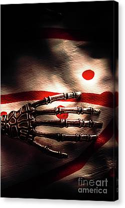 Death Metal Ai Canvas Print by Jorgo Photography - Wall Art Gallery