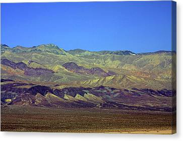 Death Valley - Land Of Extremes Canvas Print by Christine Till