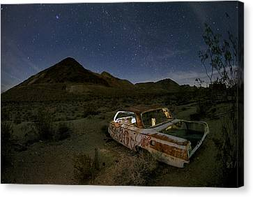 Death Valley Drive-in Canvas Print by Sean Foster