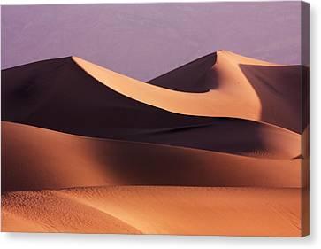 Death Valley Dunes Canvas Print by Matt  Trimble