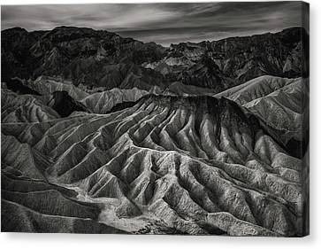 Death Valley Formation Canvas Print by Joseph Smith