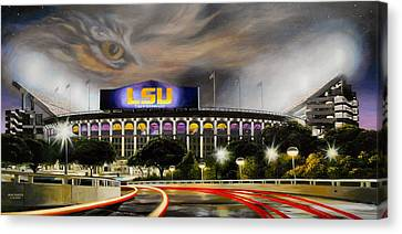 Death Valley Game Time Canvas Print by Mike Roberts