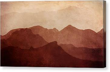 Death Valley Canvas Print by Scott Norris