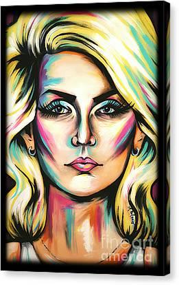 Debbie Harry Canvas Print by Amy Belonio
