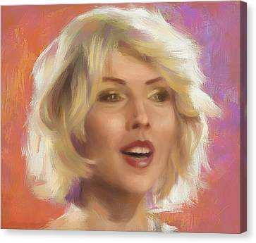 Debbie Harry Canvas Print by Ixie