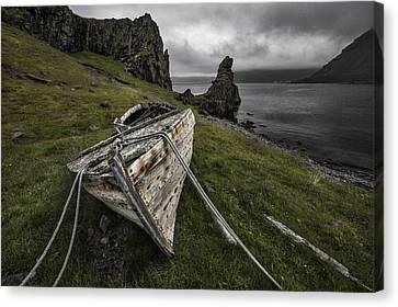 Decay Canvas Print by Bragi Ingibergsson -