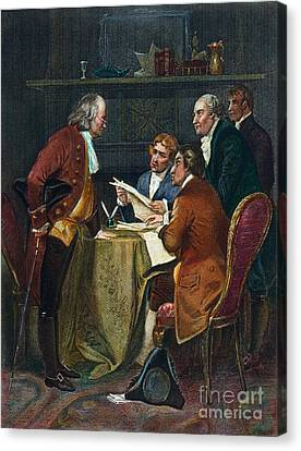 Declaration Committee Canvas Print by Granger
