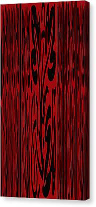Deep Red Abstract Canvas Print by Aimee L Maher Photography and Art Visit ALMGallerydotcom