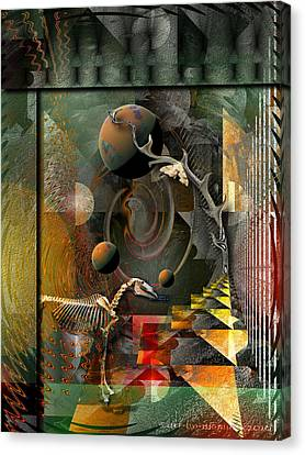 Deep Soul Journey Canvas Print by Mimulux patricia no