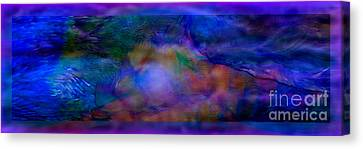 Deep Waters Canvas Print by Glenyss Bourne