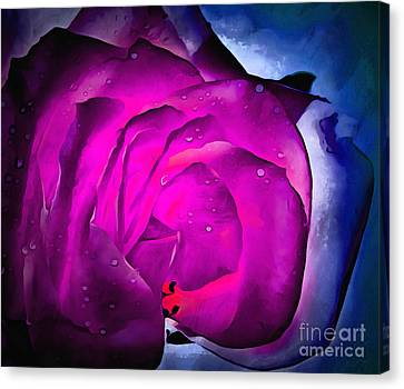 Deep Within Your Heart Canvas Print by Krissy Katsimbras