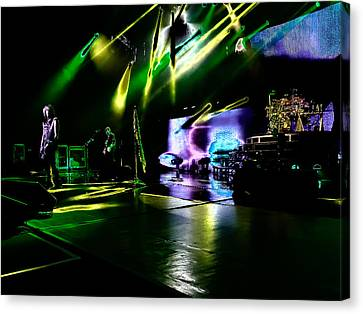Def Leppard At Saratoga Springs 4 Canvas Print by David Patterson