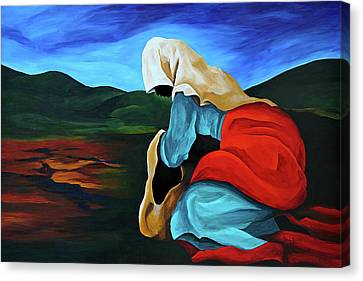 Defilee La Folle Canvas Print by Patricia Brintle