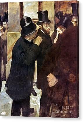 Degas: Stock Exchange Canvas Print by Granger