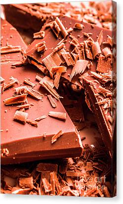 Delicious Bars And Chocolate Chips  Canvas Print by Jorgo Photography - Wall Art Gallery