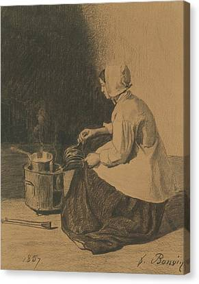 Demoiselle  Canvas Print by Maurice Denis