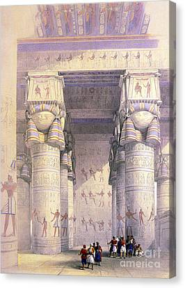 Dendera Temple Complex, 1930s Canvas Print by Science Source
