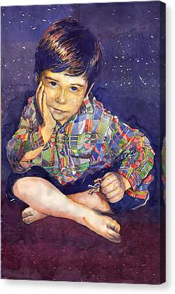 Denis 01 Canvas Print by Yuriy  Shevchuk