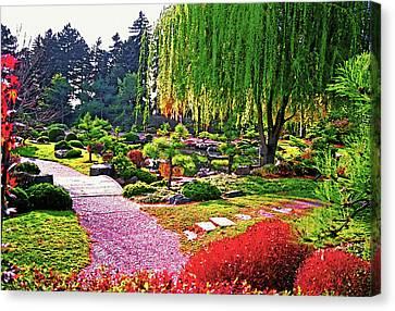 Denver Botanical Gardens 1 Canvas Print by Steve Ohlsen