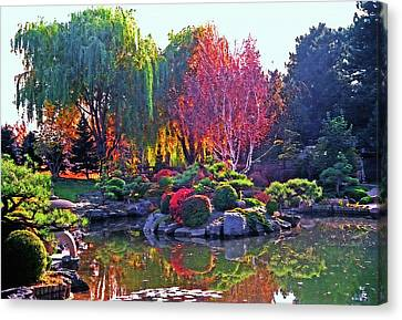 Denver Botanical Gardens 3 Canvas Print by Steve Ohlsen