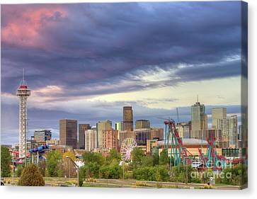 Denver Canvas Print by Juli Scalzi