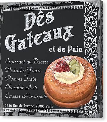 Des Gateaux Canvas Print by Debbie DeWitt