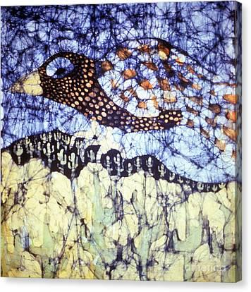 Desert Crow Canvas Print by Carol Law Conklin