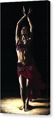 Desert Dancer Canvas Print by Richard Young