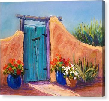 Desert Gate Canvas Print by Candy Mayer