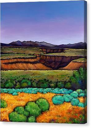Desert Gorge Canvas Print by Johnathan Harris