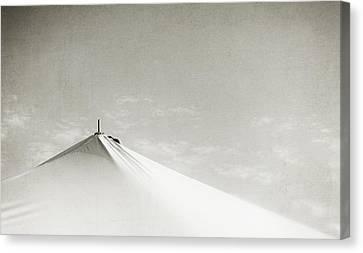 Desert Peak Canvas Print by Scott Norris