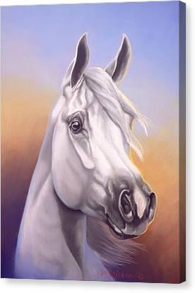 Desert Prince Canvas Print by Howard Dubois