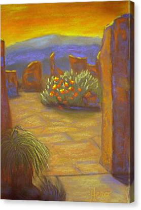 Desert Rose Canvas Print by Marcia  Hero