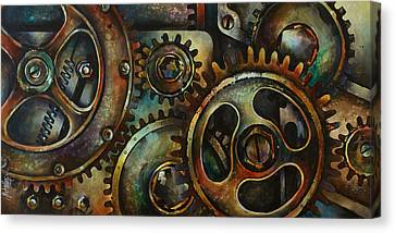 Design 2 Canvas Print by Michael Lang