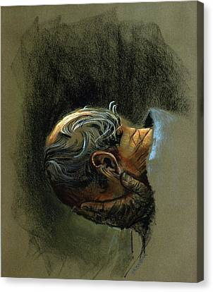 Despair. Why Are You Downcast? Canvas Print by Graham Braddock