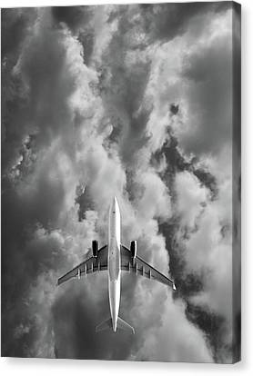 Destination Unknown Canvas Print by Mark Rogan