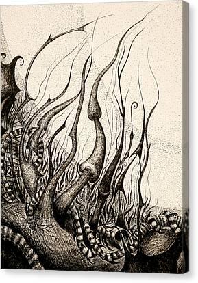 Determination Canvas Print by Elena Iogha