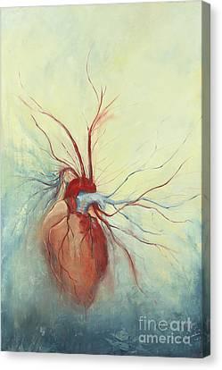 Determination Canvas Print by Priscilla  Jo