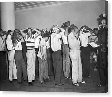 Detroit Race Riots Canvas Print by Underwood Archives
