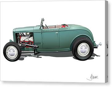 Deuce Canvas Print by Alain Jamar