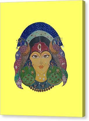 Devi Tee Canvas Print by Vidya Vivek