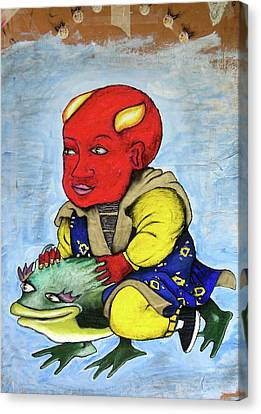 Devilboy Canvas Print by Billy Knows