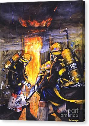 Devil's Doorway Canvas Print by Paul Walsh