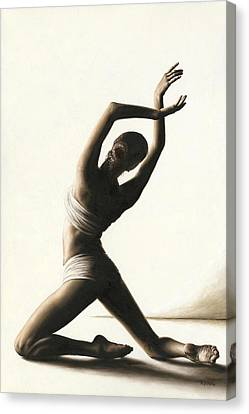 Devotion To Dance Canvas Print by Richard Young