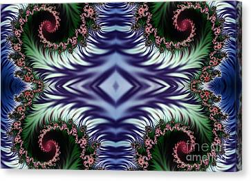 Diamonds Are Forever Canvas Print by Clayton Bruster